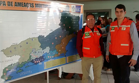 Angra participa do Mapa de Amea�as M�ltiplas